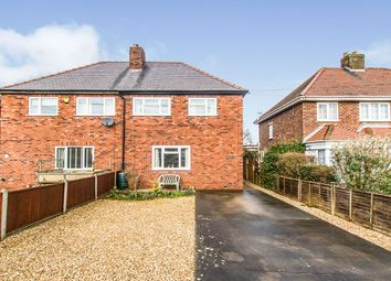 Thumbnail 3 bed semi-detached house for sale in Fen Lane, Dunston, Lincoln, Lincolnshire
