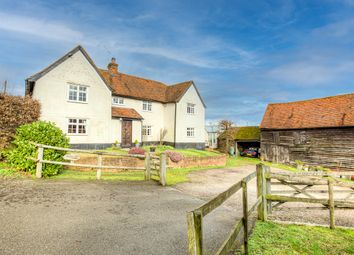 Thumbnail 4 bed farmhouse for sale in Lincolns Lane, Pilgrims Hatch, Brentwood, Essex