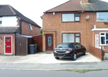 Thumbnail 3 bedroom semi-detached house for sale in Stonehill Avenue, Birstall, Leicester