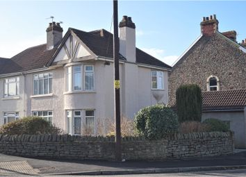 Thumbnail 3 bed semi-detached house for sale in Chapel Road, Hanham