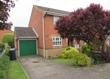 Thumbnail 2 bedroom end terrace house for sale in Leabrook Close, Bury St. Edmunds