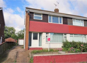 Thumbnail 3 bed semi-detached house for sale in West Winds Road, Winterton