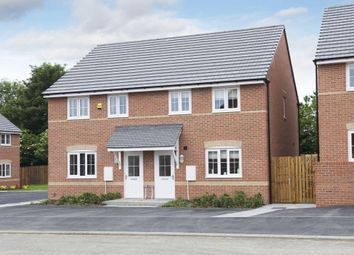"Thumbnail 3 bedroom semi-detached house for sale in ""Finchley"" at Bruntcliffe Road, Morley, Leeds"