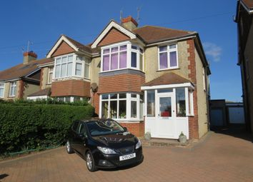 Thumbnail 3 bed semi-detached house for sale in Mile Oak Road, Southwick, Brighton