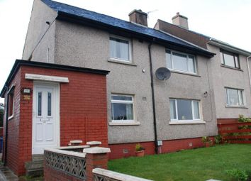 Thumbnail 2 bed flat to rent in Glamis Drive, Greenock