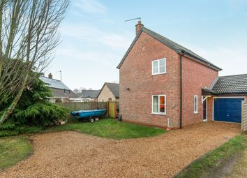 Thumbnail 3 bedroom detached house for sale in The Chase, Stanton, Bury St. Edmunds