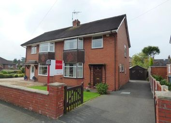 Thumbnail 3 bed semi-detached house for sale in Lime Grove, Alsager, Cheshire