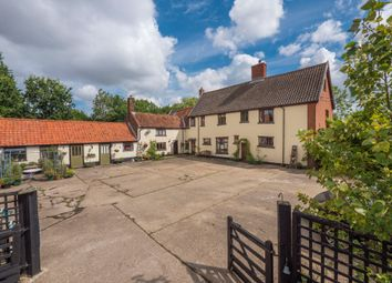 Thumbnail 5 bed farmhouse for sale in Westhall, Halesworth