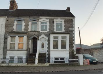 Thumbnail 4 bedroom end terrace house for sale in Walker Road, Cardiff