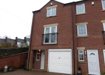 Thumbnail 4 bed town house to rent in North Leys, Ashbourne