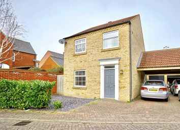Thumbnail 3 bed link-detached house for sale in Pearson Close, Eynesbury, St. Neots
