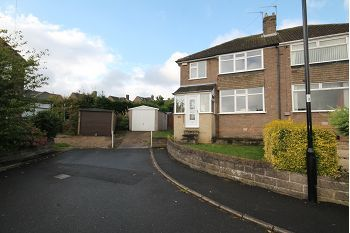 Thumbnail 3 bed semi-detached house to rent in Ashurst Close, Sheffield