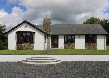 Thumbnail 4 bed detached bungalow for sale in Plas Gwyn Road, Y Ffor, Pwllheli
