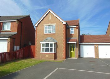 Thumbnail 3 bed detached house to rent in Cottingham Grove, Thornley, Durham
