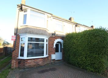 Thumbnail 3 bed end terrace house for sale in Dartmouth Road, Coventry