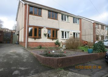 Thumbnail 3 bed semi-detached house for sale in Pine Valley, Cwmavon, Port Talbot.