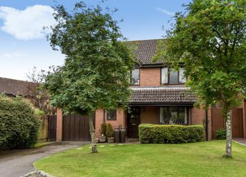 Thumbnail 4 bed detached house to rent in Windmill Field, Windlesham