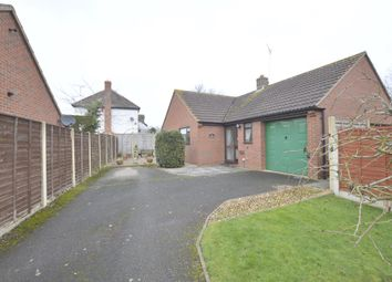 Thumbnail 3 bed detached bungalow for sale in Meadow Gardens, Hillend Road, Twyning, Tewkesbury, Gloucestershire