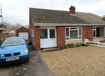 Thumbnail 2 bed semi-detached bungalow to rent in Conway Road, Cannington, Bridgwater