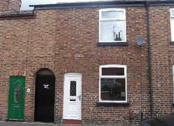 Thumbnail 2 bed terraced house to rent in Crown Street West, Macclesfield