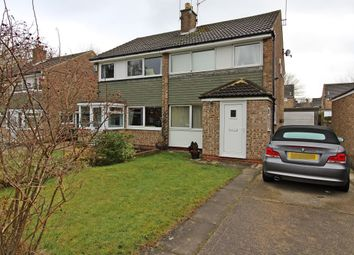 Thumbnail 3 bed semi-detached house for sale in Birkdale Place, Alwoodley, Leeds