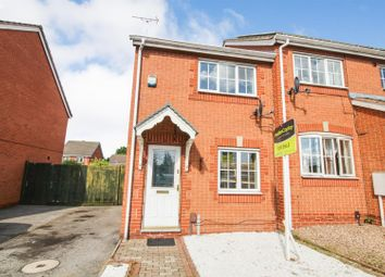Thumbnail 2 bedroom semi-detached house for sale in Meadow Brown Road, Bobbersmill, Nottingham