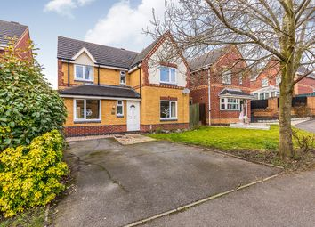 Thumbnail 4 bed detached house for sale in Middle Close, Swadlincote