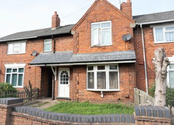 Thumbnail 3 bed terraced house for sale in Newbolt Street, Walsall