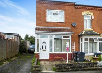 Thumbnail 3 bed end terrace house for sale in Nansen Road, Sparkhill, Birmingham
