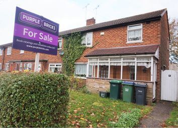 Thumbnail 3 bed end terrace house for sale in Lime Tree Road, Walsall