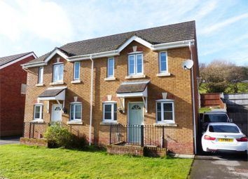 Thumbnail 3 bed semi-detached house for sale in Cwrt Pant Yr Awel, Lewistown, Bridgend, Mid Glamorgan