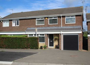 Thumbnail 4 bed semi-detached house for sale in Newlyn Drive, Parkisde Dale, Cramlington