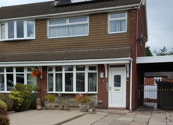 Thumbnail 3 bed semi-detached house to rent in New Hayes Road, Tunstall, Stoke-On-Trent