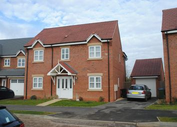 Thumbnail 4 bed detached house to rent in Devana Way, Great Glen