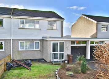 Thumbnail 3 bed semi-detached house for sale in Pennor Drive, St Austell