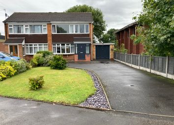 Thumbnail 3 bed semi-detached house for sale in Elmdon Road, Marston Green, Birmingham