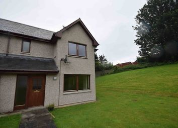 Thumbnail 3 bed semi-detached house to rent in Castlehill Cottages, Inverness, Inverness-Shire