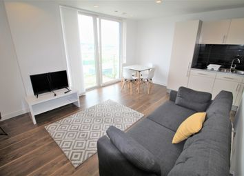 Thumbnail 2 bed flat to rent in Number One Building, Pink, Salford Quays, Salford Quays