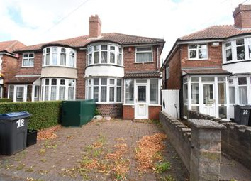 Thumbnail 2 bed semi-detached house for sale in Patrick Road, Yardley, Birmingham