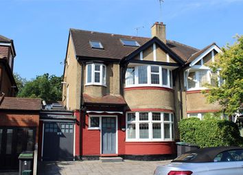 Thumbnail 4 bed semi-detached house for sale in Rhodes Avenue, Muswell Hill Borders, London