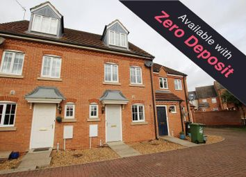 Thumbnail 3 bed town house to rent in Tern Road, Hampton Hargate, Peterborough