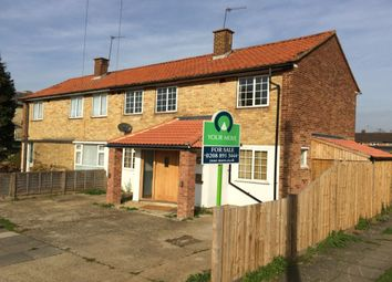Thumbnail 3 bed semi-detached house for sale in Butts Crescent, Hanworth, Feltham