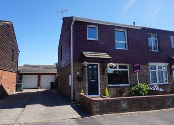Thumbnail 3 bed semi-detached house for sale in Springwood Drive, Ashford