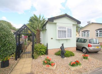Thumbnail 1 bed mobile/park home for sale in Burway Crescent, Penton Park, Chertsey, Surrey