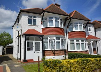 Thumbnail 3 bedroom semi-detached house to rent in Ambleside Gardens, Wembley, Middlesex