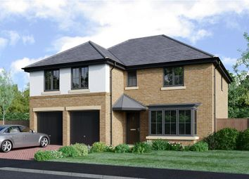 "Thumbnail 5 bed detached house for sale in ""The Jura"" at Coach Lane, Hazlerigg, Newcastle Upon Tyne"
