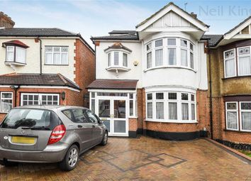 Thumbnail 4 bed semi-detached house for sale in Wordsworth Avenue, South Woodford, London
