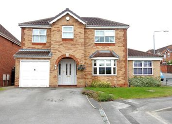 Thumbnail 4 bed detached house for sale in Blenheim Rise, Worksop