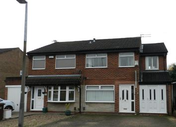 Thumbnail 3 bed semi-detached house to rent in Meadowfield Drive, Worsley