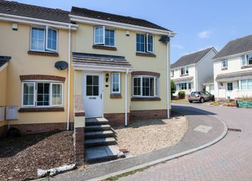 Thumbnail 3 bedroom end terrace house for sale in Knights Mead, Chudleigh Knighton, Chudleigh, Newton Abbot